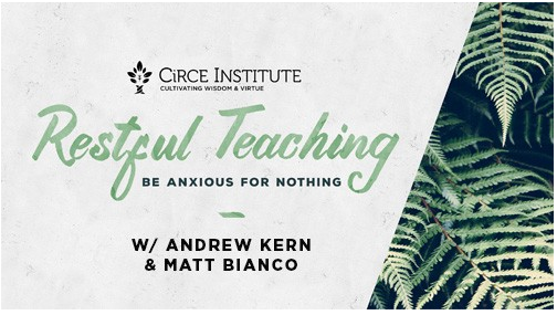 Restful Teaching Tour with Andrew Kern and Matt Bianco Florence SC Circe Institute