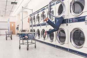 person looking searching clean